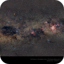 The Southern Skies - Vela to the Pointers - Extremely Wide Field,                                Paul Baker