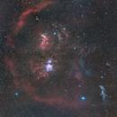 Orion Nebula wide field (3 panels mosaic),                                Ysty