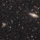 NGC 7331 and Stephan's Quintet,                                Garrett Hubing