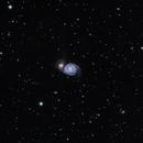 Messier 51, Whirlpool Galaxy,                                L. Lopez