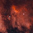 IC 5070 - Pelican nebula,                                jed2i