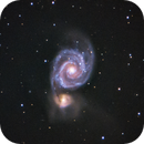 M51 - Whirlpool Galaxy,                                dswtan