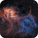 Lion Nebula   Sh2-132,                                StephanHamel