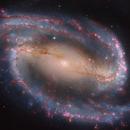 NGC 1300 - HaRGB - Hubble :-),                                Daniel Nobre
