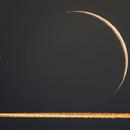 Occultazione Saturno con scia,                                H-x6