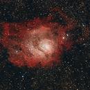 Lagoon Nebula - Messier 8,                                MRPryor