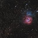 M20 - Trifid Nebula,                                Chief