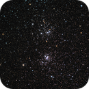 The Double Cluster,                                Scott