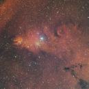 NGC2264 Christmas Tree narrowband,                                alistairmac