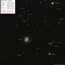 M61 in Virgo,                                Bruce Rohrlach