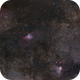 The Eagle and the Swan - M16-M17 Widefield,                                Gabriel R. Santos...