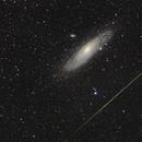 Perseid in Andromeda,                                Daniel Nicolae