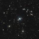 NGC 4015 or ARP 138 Group, NGC 3987 - LGG 261 Group and NGC 3997 - LGG 260 Group Wide Field,                                Riedl Rudolf