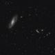The M106 galaxy and neighbors,                                Francesco Meschia