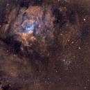 Bubble Nebula M52 SHO,                                NicolaAntonio