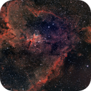 The Heart Nebula IC1805,                                Nikolaos Karamitsos