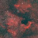 NGC7000,                                Benoit leguet