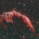 The Eastern Veil nebula HaORGB,                                Audrius