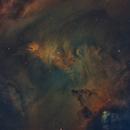 NGC2264 - Cone Nebula Region in SHO,                                Anis Abdul