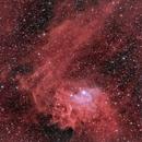 Flaming Star Nebula C31, IC 405, SH2-229,                                dkuchta5