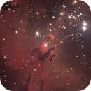 M16  shooting with the 2-meter telescope of the Faulkes Telescope South,                                Gianluca Belgrado