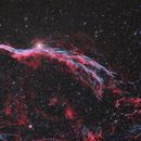 NGC 6960 (Ha + O3 + RGB),                                Scott Davis