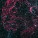 Spaghetti nebula,                                Andrea Bergamini