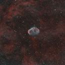NGC 6888, The Crescent Nebula,                                Frank McMahon