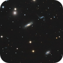 Hickson 44 - galaxy group in Leo,                                Benny Colyn