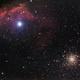 M4 + Al Niyat + nebula,                                Kevin Parker
