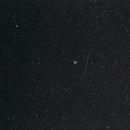 Perseid near Iris Nebula,                                AC1000