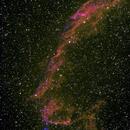 The Eastern Veil Nebula  NGC 6992,                                Aaron G