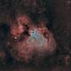 M17 omega nebula HHO,                                lukfer