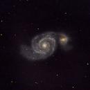 M51 - LRGB composite - 2019-2020,                                altazastro