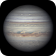 Jupiter 11 Jun 2018 - 6 min animation,                                Seb Lukas