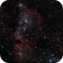 Soul nebula in widefield with reprocessing using PI,                                Ian Dixon