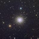 Hercules Globular Cluster M13,                                Wirrkopf