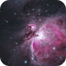 M42 Orion Nebula and Running Man,                                wsg