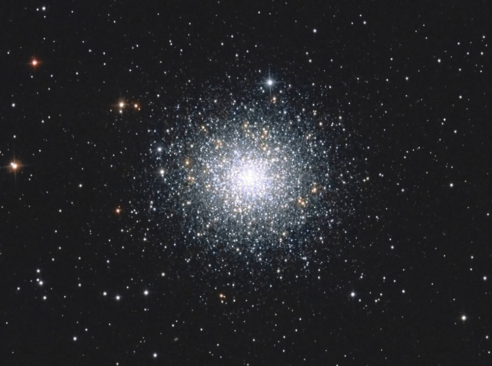 Messier 2, NGC 7089, Globular Cluster,                                Big_Dipper