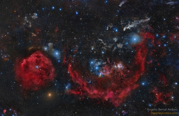 Clouds of Orion, Galactic Hunter,                                Rogelio Bernal An...