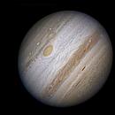Jupiter du 29/09/10 avec le T1m du Pic du Midi faite par Jean-Luc Dauvergne, Philippe Tosi,Elie Rousset Traitement Luc CATHALA,                                CATHALA Luc