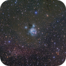 NGC7129 Reflection Nebula/Open Cluster in Cepheus,                                Masahiro Takahashi