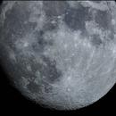 Near-full moon,                                Jamie Smith