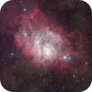 M8 - the Lagoon nebula from the Alps!,                                Gianni Cerrato