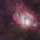 M8 - the Lagoon nebula from the Alps!,                                Gianni Cerrato