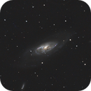 M106 Galaxie LRVB avec la collaboration de Striker06,                                dagar