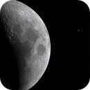 Saturn occulted by the Moon,                                mdek