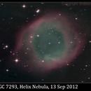 NGC 7293, Helix Nebula, 13 Sep 2012,                                David Dearden
