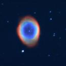 M57 nébuleuse planétaire dans la constellation de la Lyre,                                christophe
