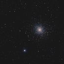 M5 Globular cluster in Serpens,                                OrionRider